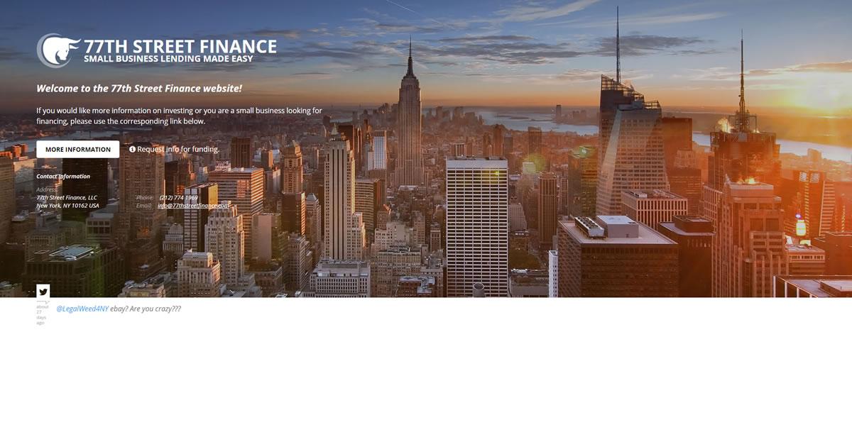 77th Street Finance